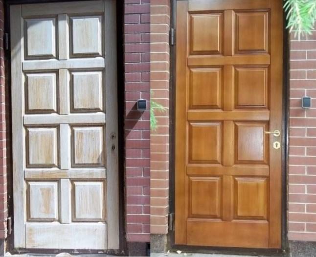 Реставрация дверей своими руками