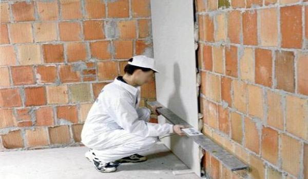 Монтаж гвл на стены