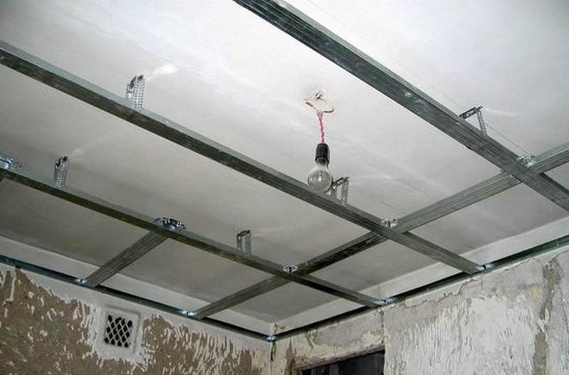 каркас для мдф потолка