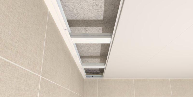 Как сделать потолок из панелей пвх в ванной своими руками