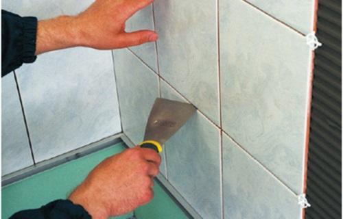 как правильно класть плитку на стену