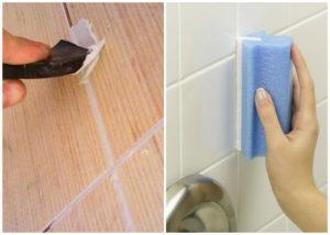 как класть плитку стены в ванне